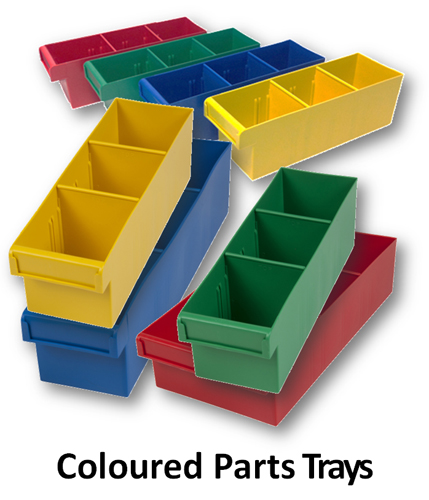 Parts Trays - Coloured
